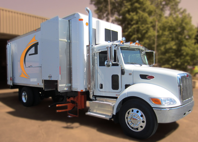 Alpine STAK Series Mobile Shred Truck