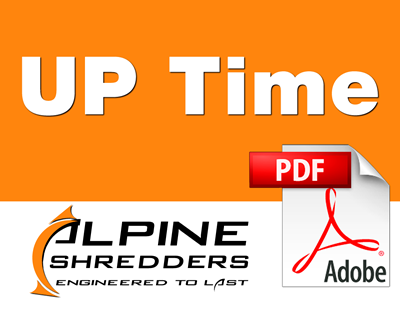 Alpine UP Time Newsletter