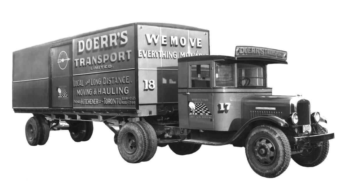 Doerr Body Truck